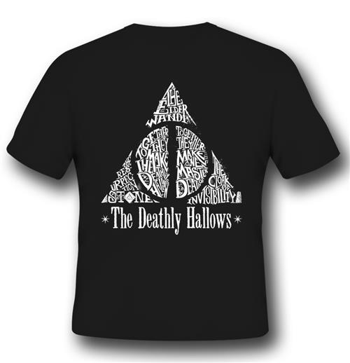 Camiseta Harry Potter Deathly Hallows