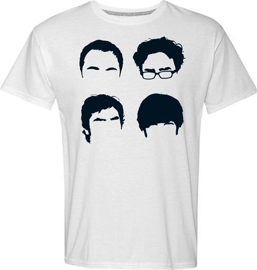 3290024df Camiseta Big Bang Theory Faces Original  Compra Online em Oferta