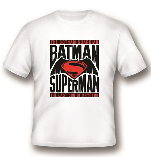 Camiseta Batman V Superman Logo