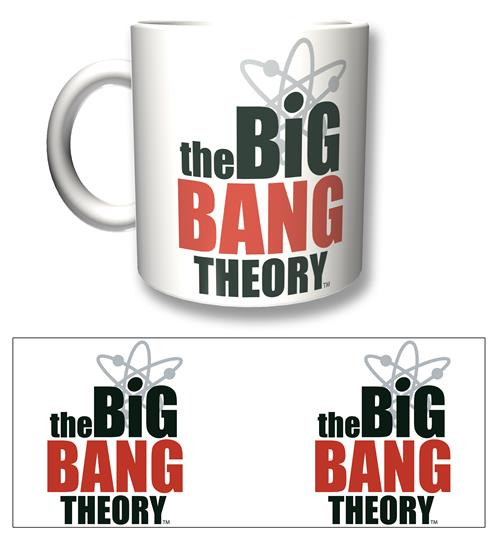 Caneca Big Bang Theory Logo