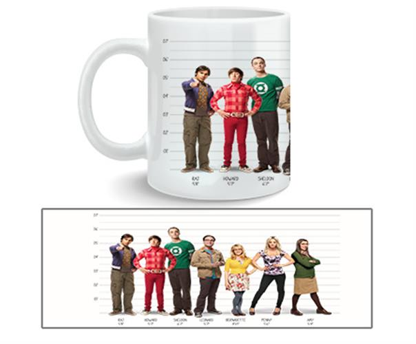 Caneca Big Bang Theory Full Cast