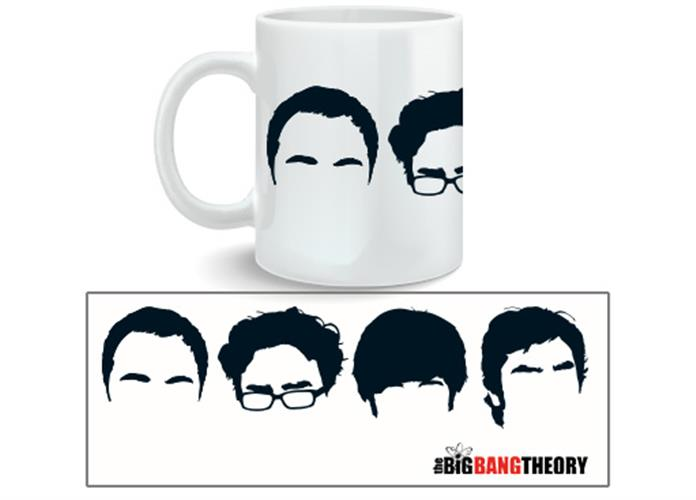 Caneca Big Bang Theory Faces