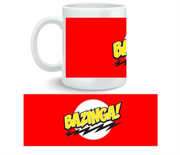 Caneca Big Bang Theory Bazinga