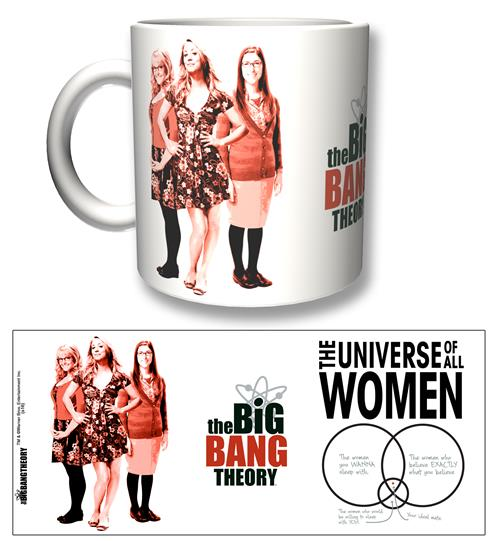 Caneca Big Bang Theory All Women