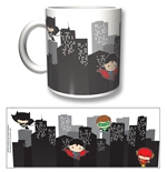 Caneca Justice League Chibi