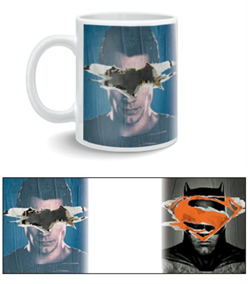 Caneca Batman V Superman Poster
