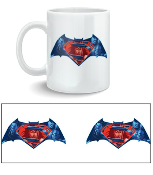 Caneca Batman V Superman Logo