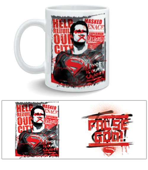 Caneca Batman V Superman False God