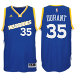 Camiseta Golden State Warriors Kevin Durant adidas Swingman Alternate Jersey Azul