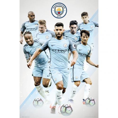 Poster Manchester City FC 236634