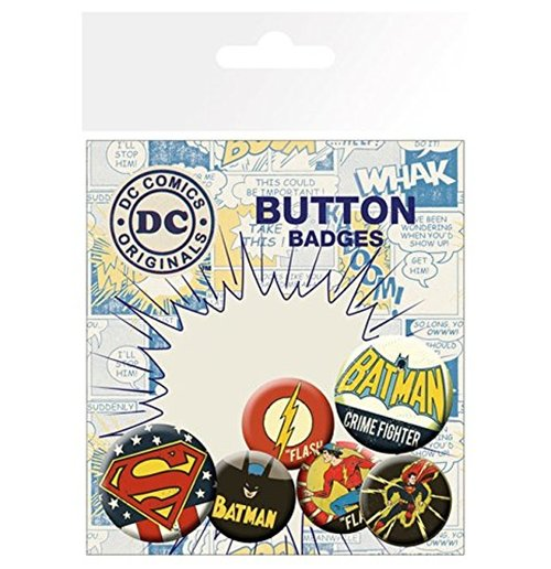 Broche DC Comics Superheroes 237124