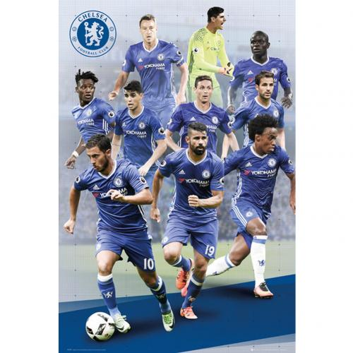 Póster Chelsea Players 78
