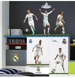 Vinil decorativo para parede Real Madrid 238604