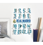 Vinil decorativo para parede Real Madrid 238607