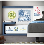Vinil decorativo para parede Real Madrid 238659