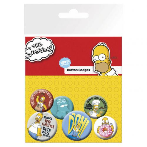 Pack Chapinhas Os Simpsons