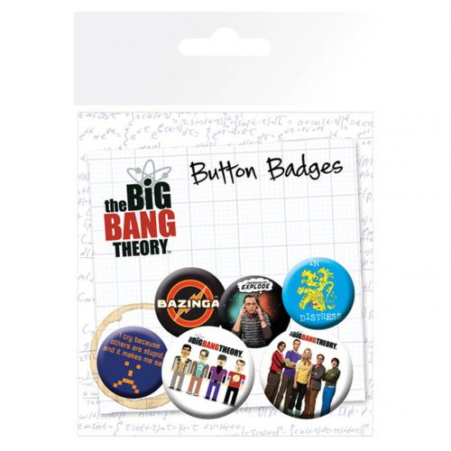 Broche Big Bang Theory 238670