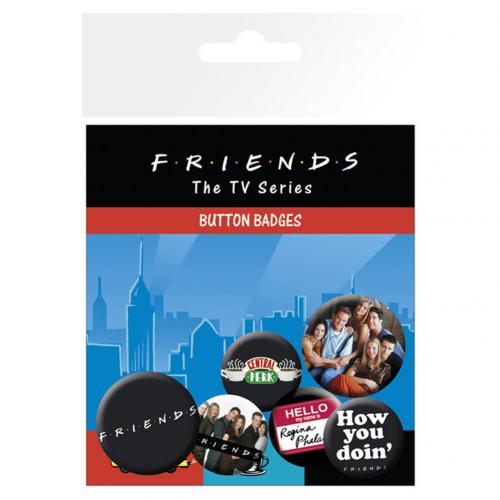 Pack Broches Friends