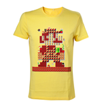 Camiseta Nintendo - Yellow Mario Maker