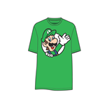 Camiseta Super Mario - Luigi waving