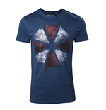 Camiseta Resident Evil - Blood Dripping Guarda-chuva Logo