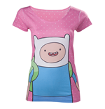 Camiseta Hora de aventuras - Finn with Dots