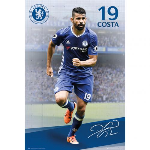 Póster Chelsea Diego Costa 19