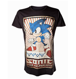 Camiseta Sega - Sonic the Hedgehog