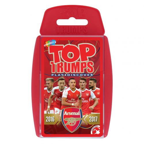 Brinquedo Arsenal Top Trumps 17