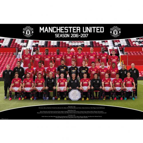 Póster Manchester United FC Squad