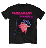Camiseta Black Sabbath Paranoid Motion Trails