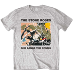 Camiseta Stone Roses She Bangs The Drums