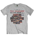 Camiseta Beatles de homem - Design: Second Album