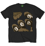 Camiseta Beatles de homem - Design: Rubber Soul Sketch