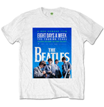 Camiseta Beatles de homem - Design: 8 Days a Week Movie Poster