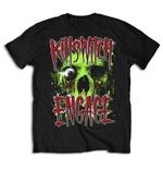 Camiseta Killswitch Engage de homem - Design: Skullyton