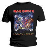 Camiseta Iron Maiden Legacy of the Beast