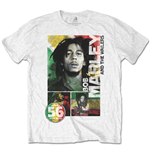 Camiseta Bob Marley 56 Hope Road Rasta