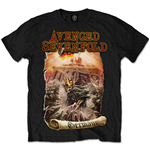 Camiseta Avenged Sevenfold de homem - Design: Germany