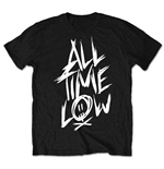 Camiseta All Time Low de homem - Design: Scratch