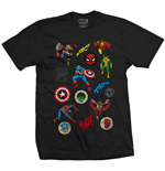 Camiseta Marvel Superheroes 241647