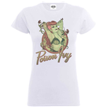 Camiseta Bombshell de mulher - Design: Justice League Bombshell Poison Ivy Badge