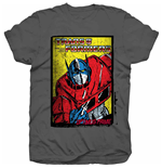 Camiseta Transformers Optimus Prime Comic