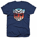 Camiseta Transformers Autobot Shield Distress