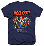 Camiseta Transformers de homem - Design: Transformers Roll Out