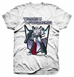Camiseta Transformers de homem - Design: Transformers Megatron
