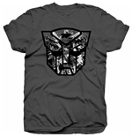 Camiseta Transformers Autobot Shield Black/White