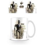 Star Wars Rogue One Caneca K-2SO