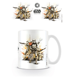 Star Wars Rogue One Caneca Stormtrooper Profile