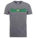 Camiseta DC Comics Superheroes de homem - Design: Originals Green Lantern Crackle Logo